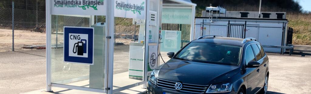 Biogas är ett svenskt bränsle