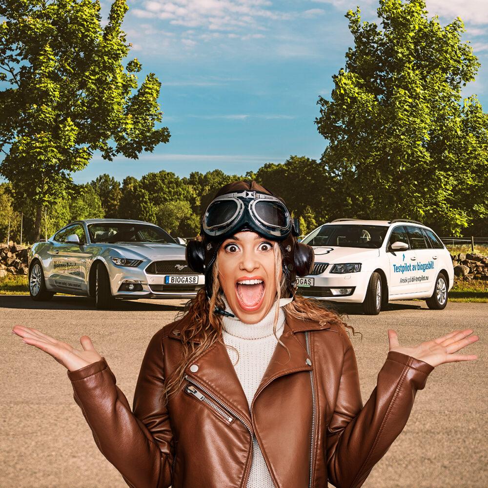 """Mimoza Bici Hajdari: """"Vi ska köpa bil, och det kan absolut bli en biogasbil!"""""""